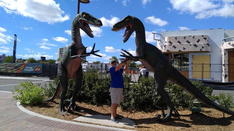 Dinosaurs Niagara Falls NY