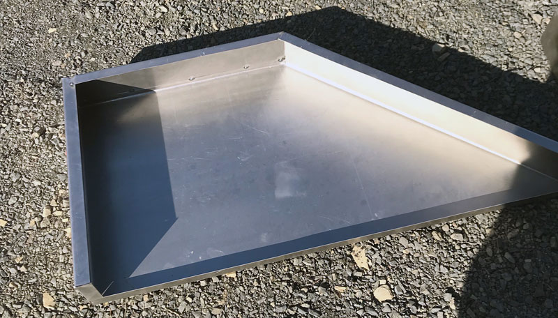 Fold Up Landing Aluminum