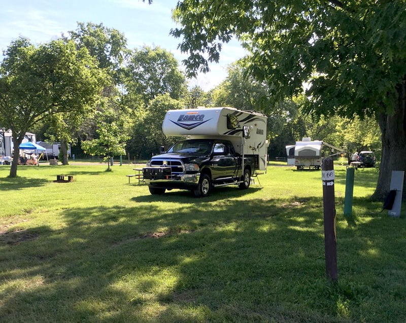 Four Mile Creek camping Youngstown NY