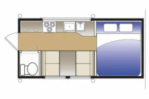 Hallmark Flatbed Nevada Floorplan