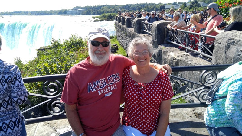 John and Linda Niagara Falls