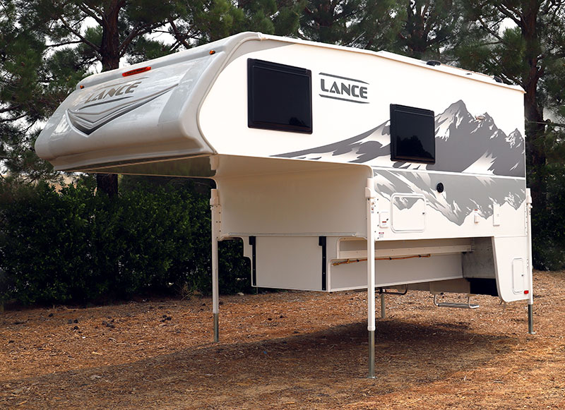 Lance 960 Camper Front Three Quarters