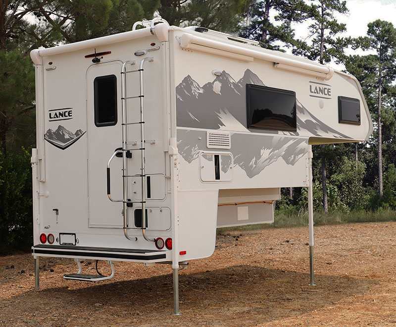 Lance 960 Camper Rear Three Quarters