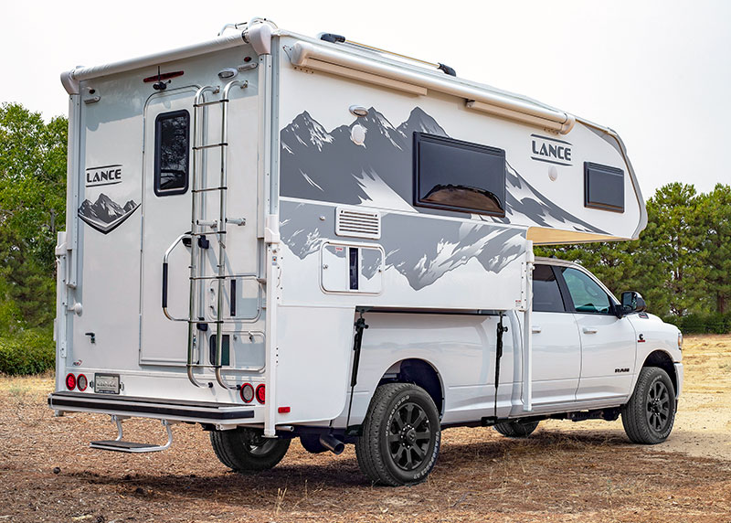 Lance 960 Camper On Ram Truck