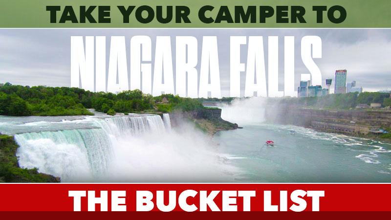 Camping RVing at Niagara Falls