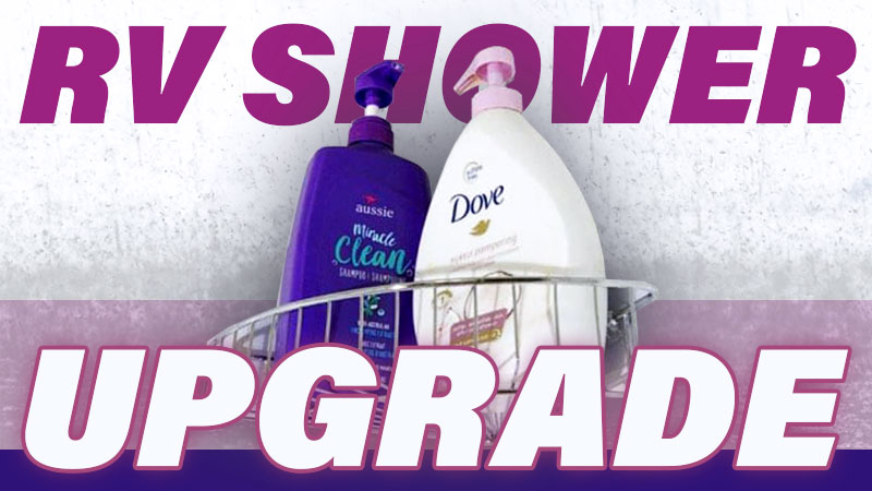 RV Shower Upgrade