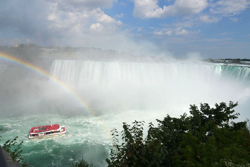 Real Canadian Mist Rainbows