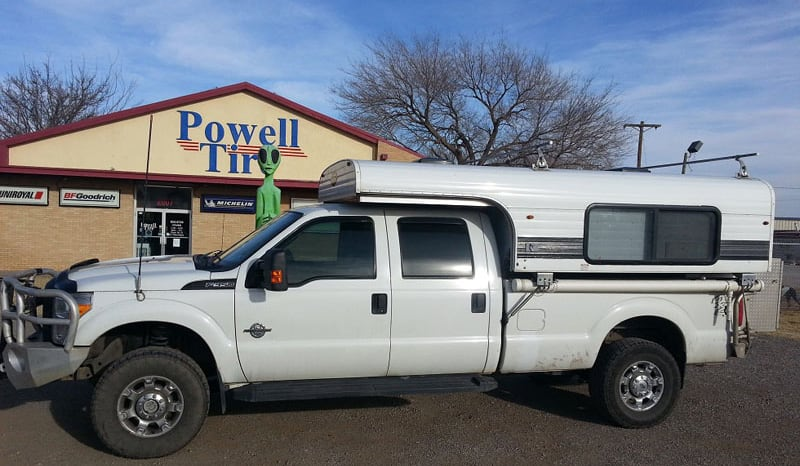 Roswell New Mexico Camper