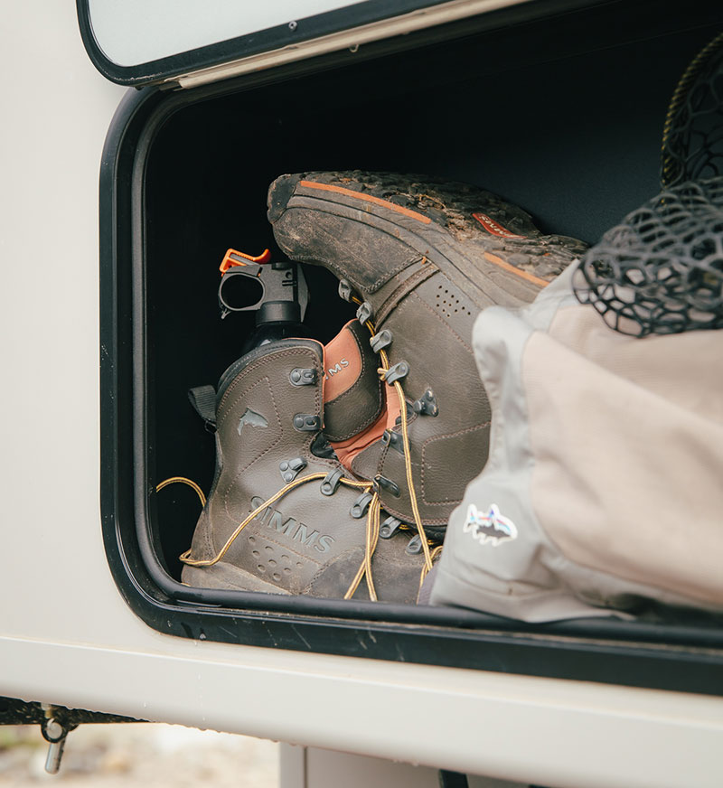 Scout Yoho Chilliwack Exterior Storage Closeup