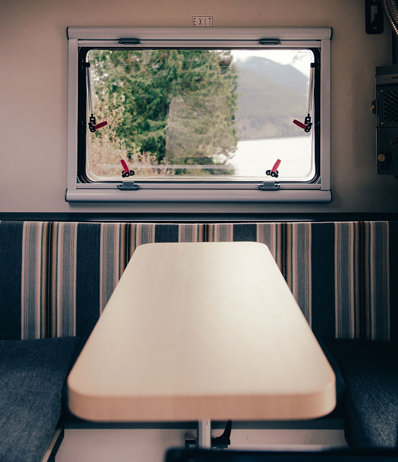 Scout Yoho Chilliwack Interior Dinette Window Table