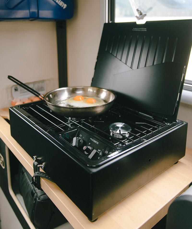 Scout Yoho Chilliwack Interior Dometic Cooktop 1