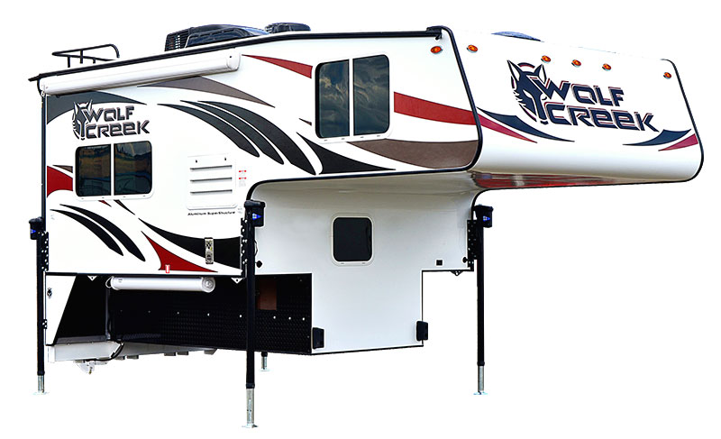 Wolf Creek 890 Exterior Front Three Quarters White
