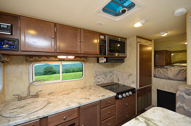 Wolf Creek 890 Interior Kitchen Wide