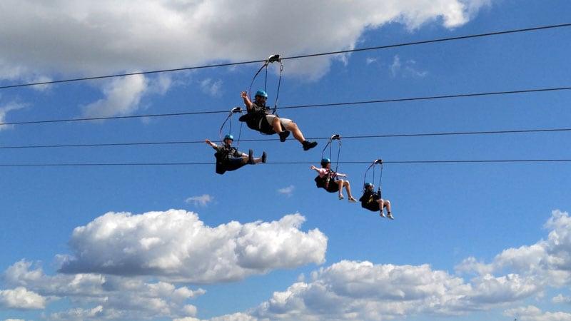 Zip Line at Niagara Falls