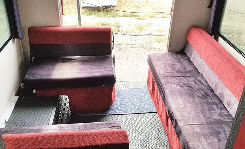 Alpenlite SUTC 1180 Rear Dinette Sofa