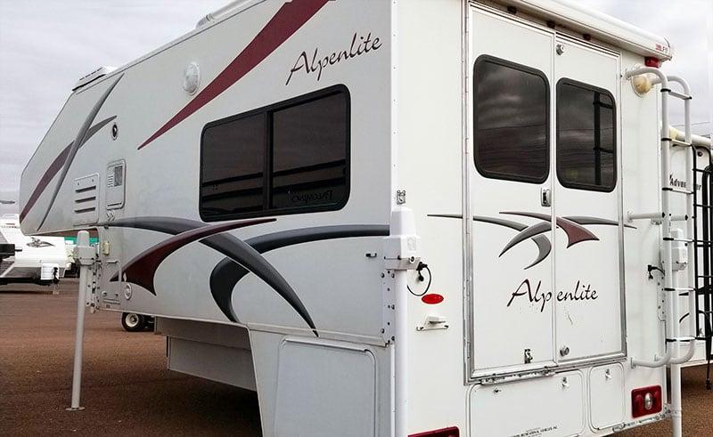 Alpenlite SUTC 1180 Rear Doors