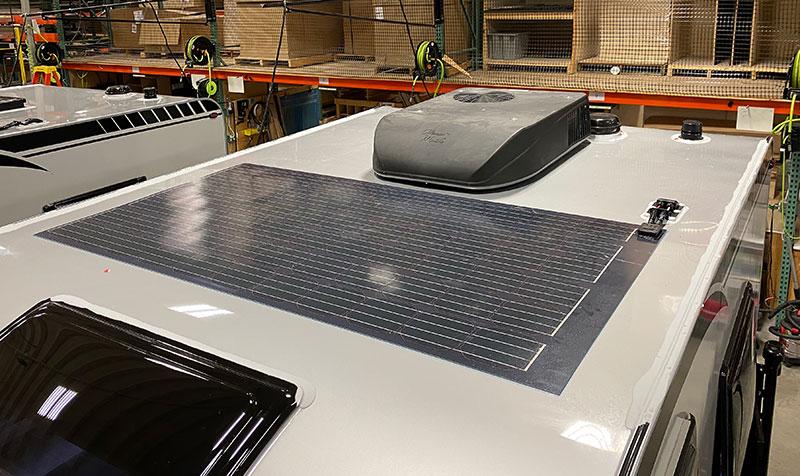 210 Watt Solar Panel on the Cirrus 620
