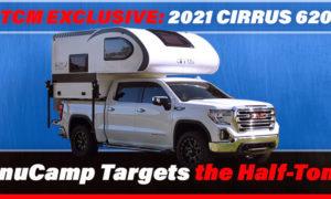 2021 Cirrus 620 truck camper