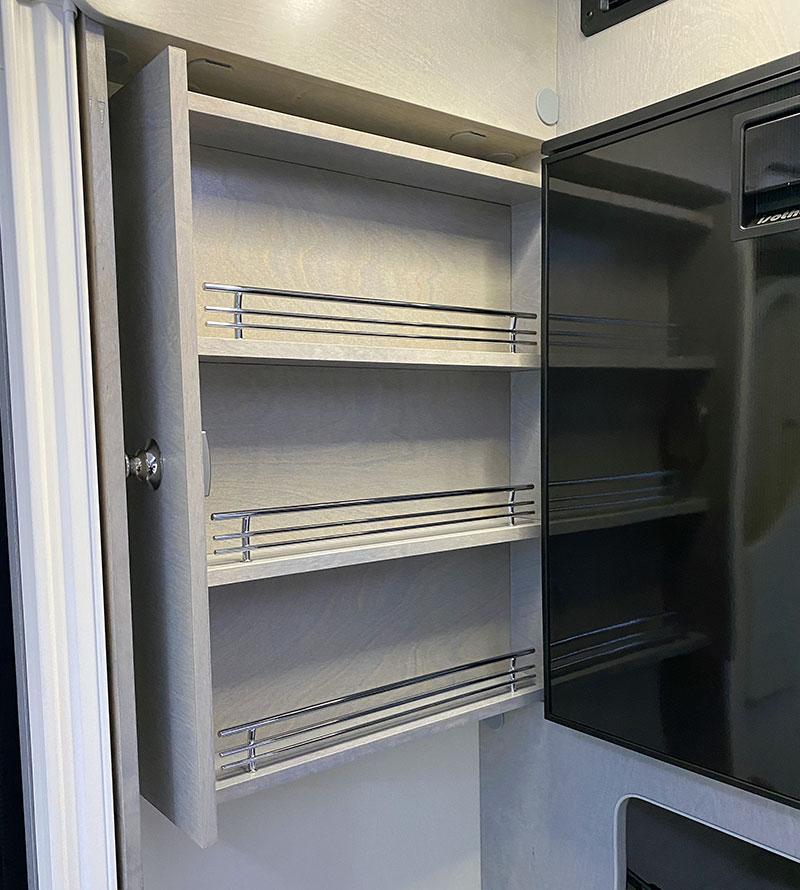 Cirrus 620 Kitchen Spice Rack Open
