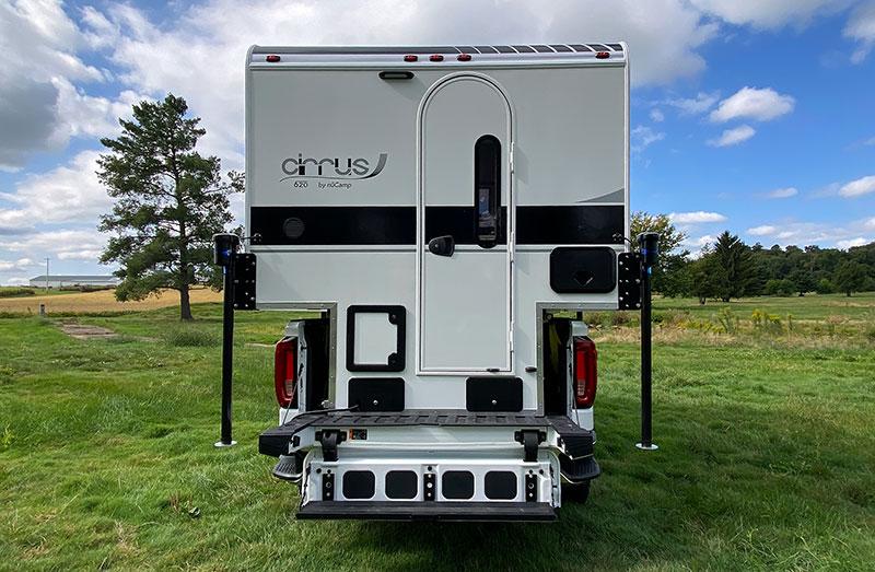 Cirrus 620 Tailgate Step Rear Profile