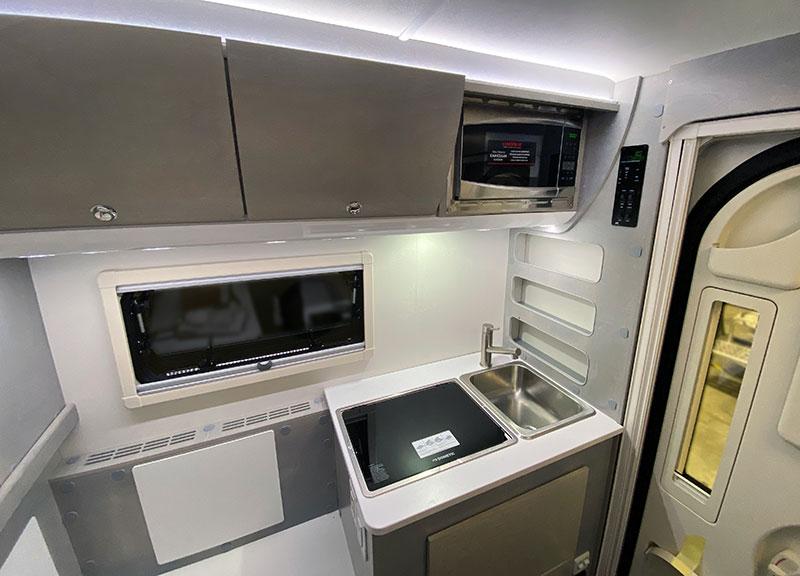 Cirrus 620 Wide Kitchen Microwave