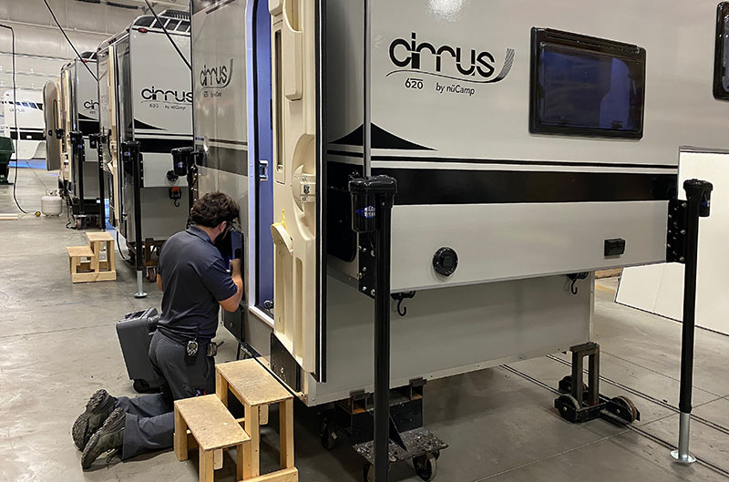 Cirrus 620 Being Built At NuCamp Factory