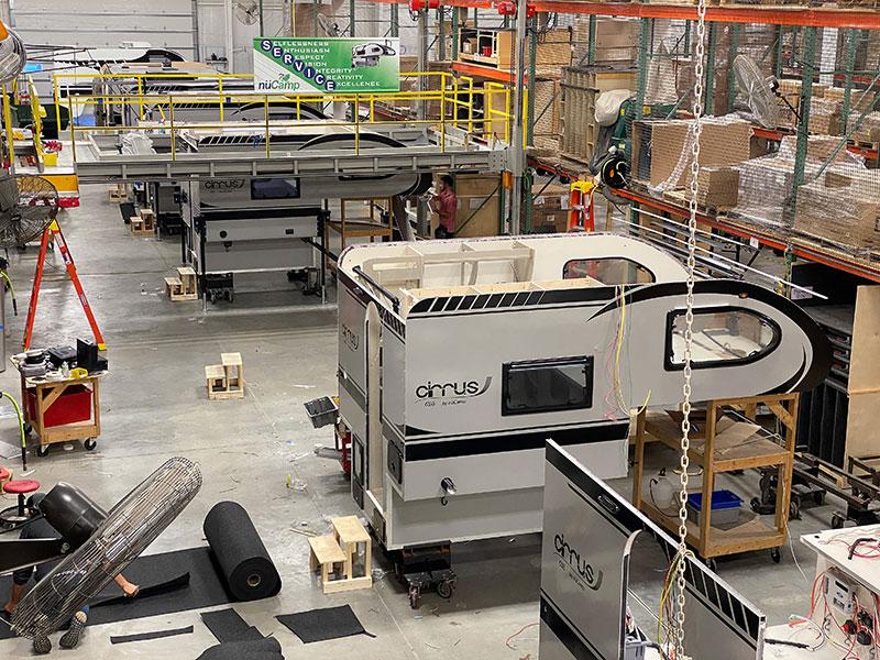 Cirrus 620 NuCamp Factory Line