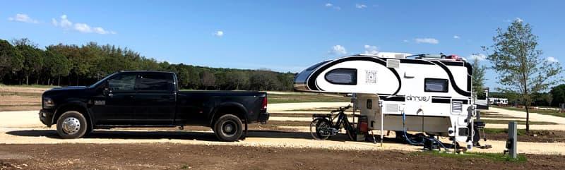 Covid Setup RV Park Texas