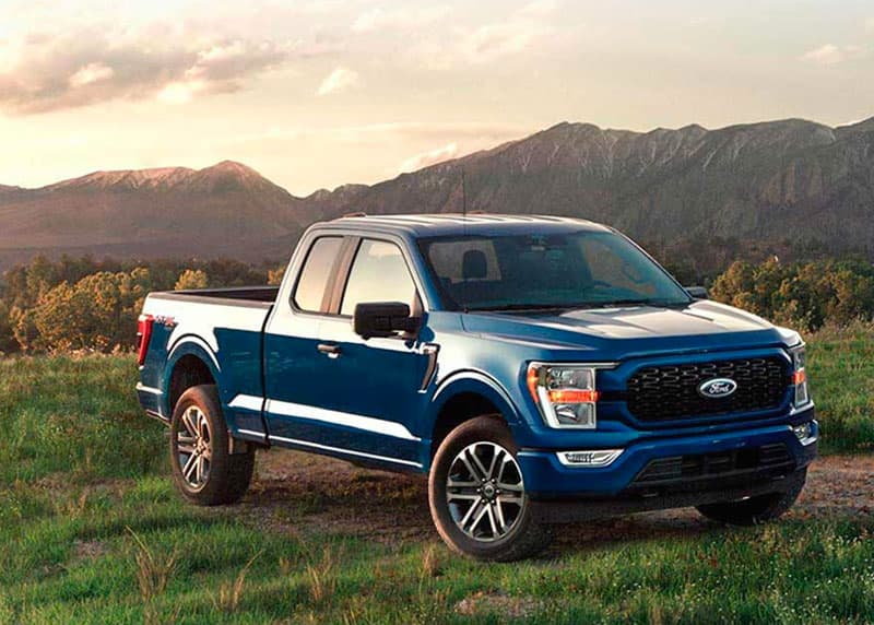 Ford F 150 Exterior Blue