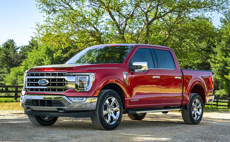 Ford Built In Generator F150 Exterior Red 1