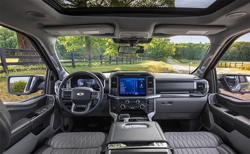 Ford F 150 Interior Wide