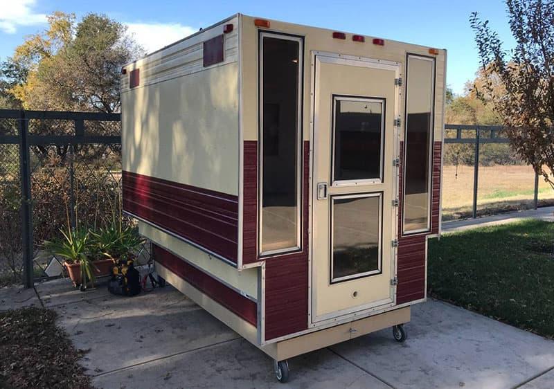 Hot Sauna Truck Camper