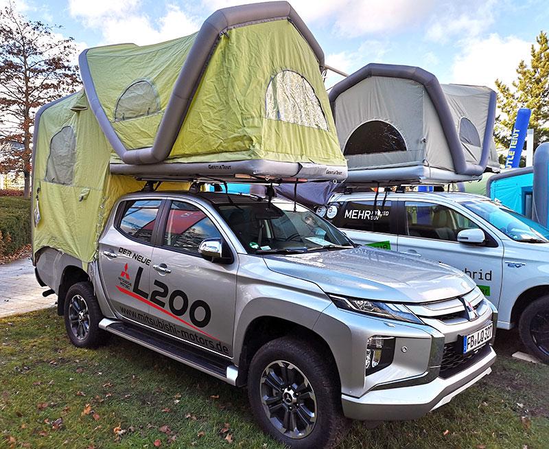 Mitsubishi Inflatable Camper L200 Truck