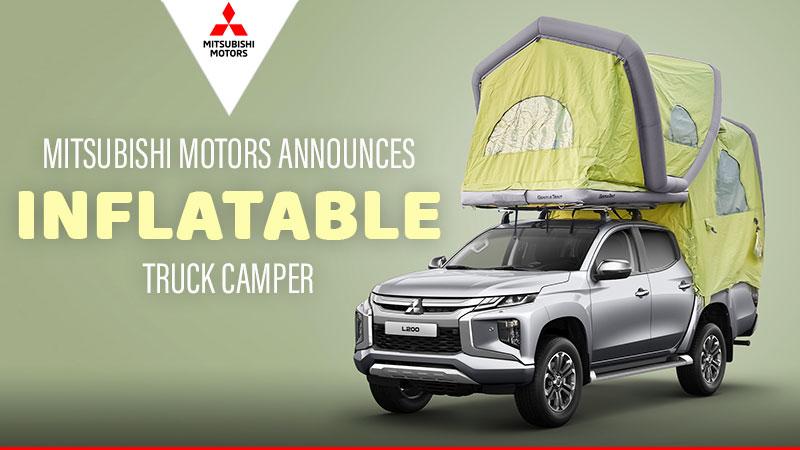 Mitsubishi Inflatable Truck Camper