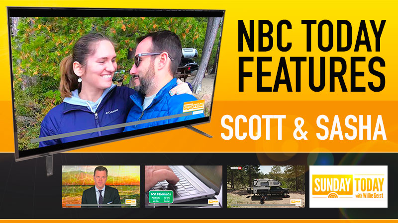 Truck Campers on NBC Today Show
