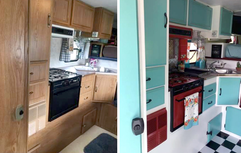 Before And After Kitchen Appliances Renovation
