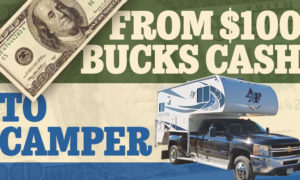 From $100 Cash to Camper