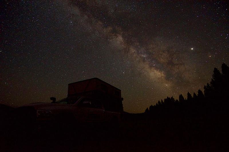 Holland Camping Under Stars