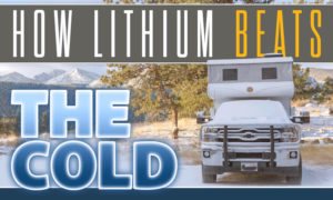 RV Lithium Batteries Beat the Cold