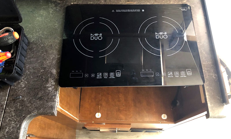 Induction Cooktop Placement