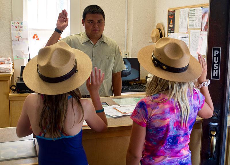 Lassen National Park Ranger Oath