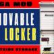 Removable Locker For RVs
