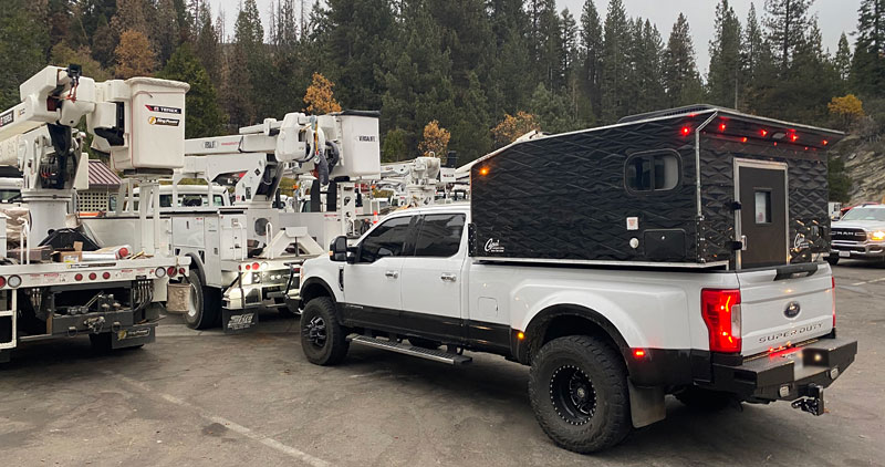 Shaver Lake Electrical Trucks