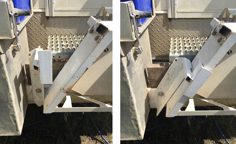 Stair Tread Lock On Bumper
