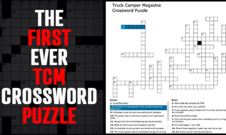 Truck Camper Crossword Puzzle