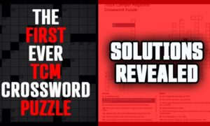 TCM Crossword Puzzle Solutions