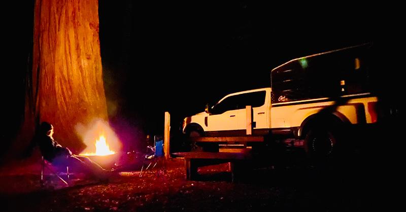 Ventana Forest Campfire Capri