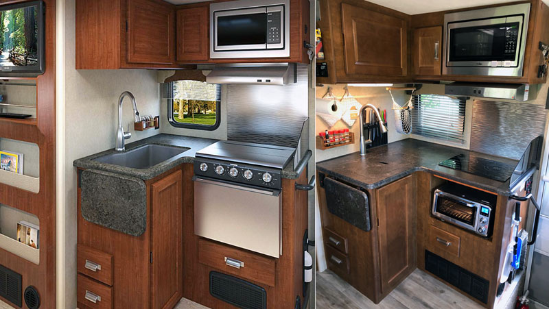 Kitchen Before After Induction Cooktop Lance 1172