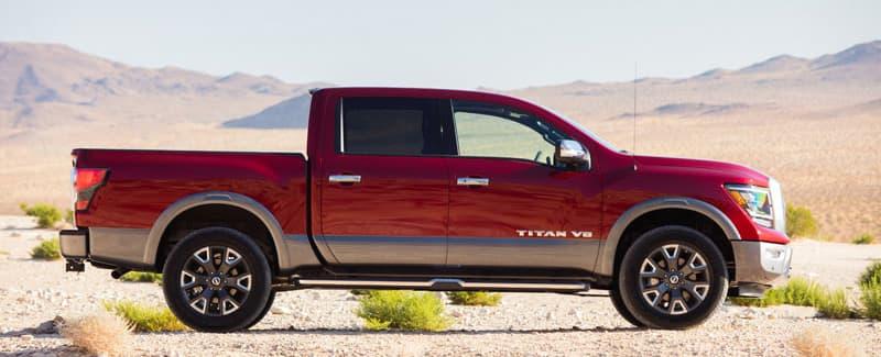 2020 Nissan Titan Platinum