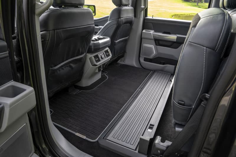 2021 Ford F 150 Back Seat